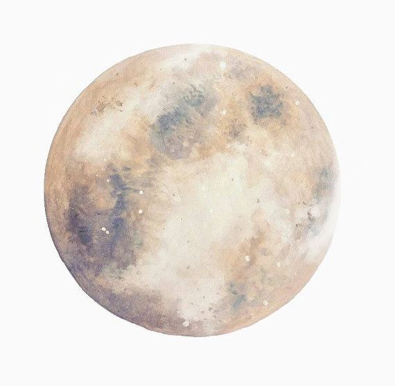 I love the moon! This moon print is beautiful and makes a perfect gift for someone who loves all things to do with moons.  - Ready to be framed -