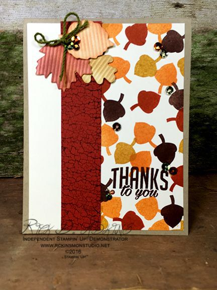 Season of Gratitude (October 2016 Paper Pumpkin) Alternative Cards