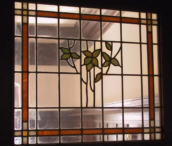 The Summerhayes mansion contains a great deal of decorative stained glass. Joshua Summer was a one time button maker and has an eye for beauty. When the sun shines, the walls are massed with swirls of reflected colour.