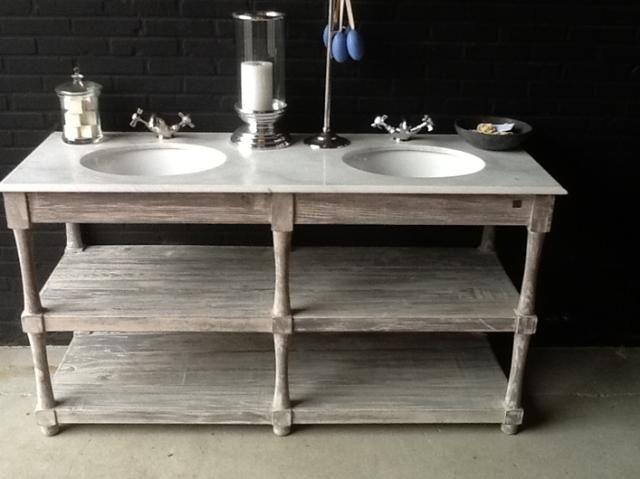 Natuursteen Wastafel - Badkamers, keukens en tegels te Utrecht - BVA Auctions