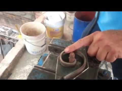 ROLADORA EN FRIO FIGURAS DE HERRERIA, FABRICACION DE DADO PARA HACER FIGURAS  DE HERRERIA. - YouTube