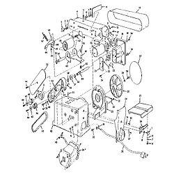CRAFTSMAN Belt And Disc Sander Unit Parts