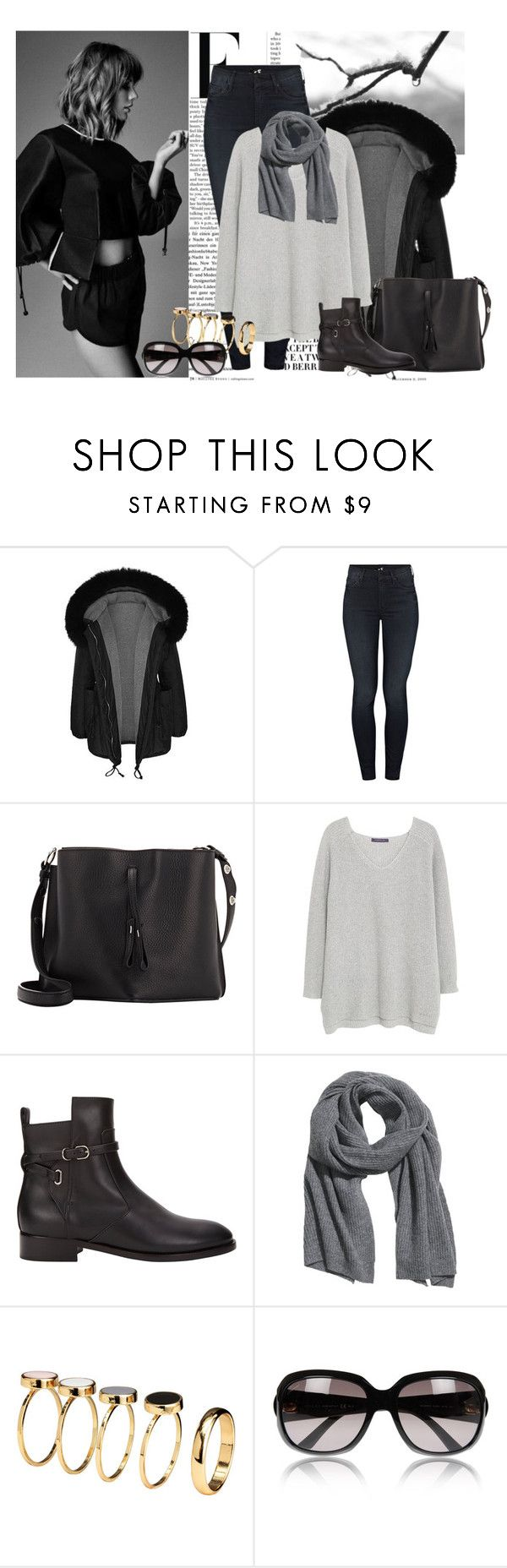 """I remember"" by ninotchka-nb ❤ liked on Polyvore featuring Nicki Minaj, Mother, Maison Margiela, Violeta by Mango, Balenciaga, H&M and Gucci"