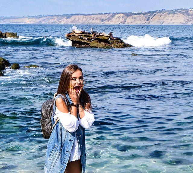 Мои хорошие, извиняюсь что пропала!! Я обещала рассказать дальше о своём путешествии, и остановилась я на Сан-Диего.. Это моя реакция увидев целый пляж забитый морскими котиками и тюленями 😱😍 Я сейчас ложису спать но завтра я вам расскажу обязательно как я с ними поплавала 😻 это был лучший #expirience  ever !!! ❤️👏🏽🙏🏽😭☀️🌊 ____________________________ #sandiego #lajolla #california #ocean #snorkeling #angiegoloseev #goloseevausa #goloseevatravel #usa #america #travel #travelblogger…
