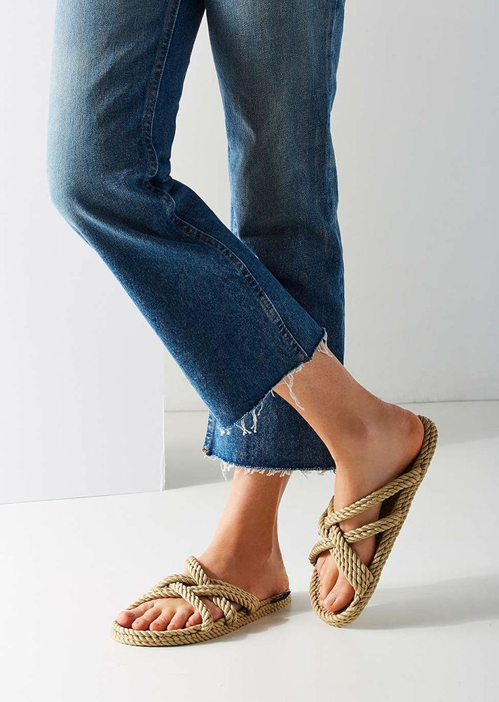 separation shoes 048f1 beed6 Are Rope Sandals the New Birkenstocks? | Shoes | Rope ...