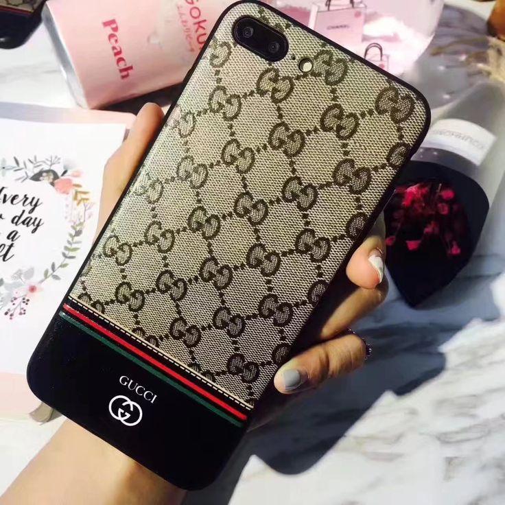 iphone8/7s/6 plus カバーGucci海外セレブ浮き彫りデザイン高質プリントケース アイフォン7Plus/7携帯男女ハイブランドグッチ人気