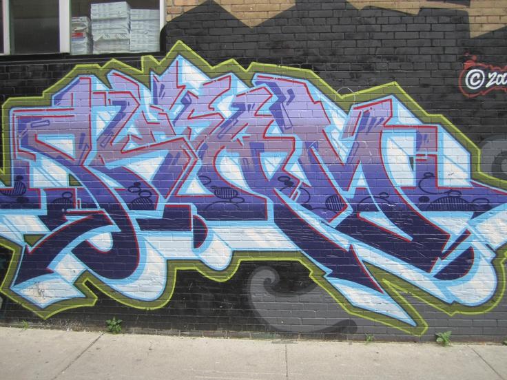 Graffiti in Toronto, Ont.