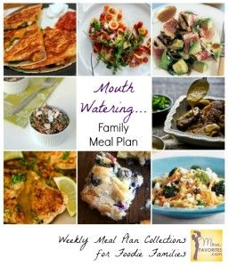 Mouth Watering Meals: Family Meal Plan Collection - Mom Favorites
