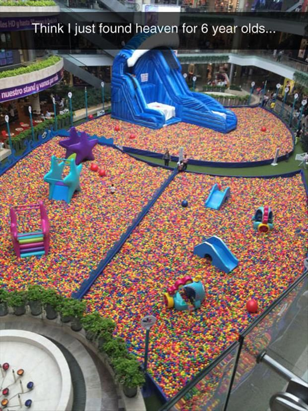 For six year olds??? Psshhh... This is heaven for anyone!