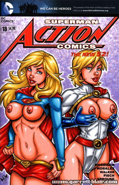 Dc comics girls naked can