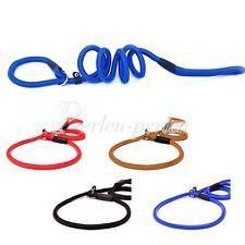 1pcs New Dogs / Cats Thick Nylon Dog Pet Rope Leash S-L 4 Color PPHG0055 Check m…