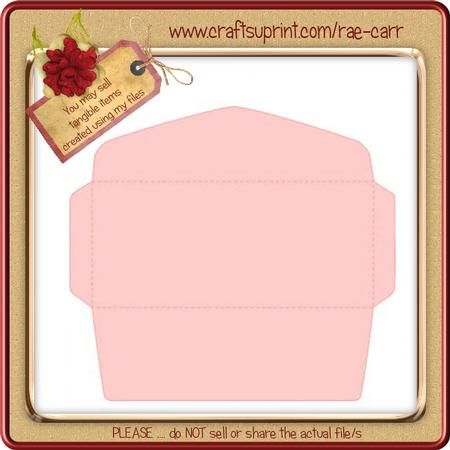 680 10 Envelope SVG  on Craftsuprint designed by Rae Carr - Number 10 envelope. This requires 12 x 12 paper. You will use this many times!The ZIP download will include PDF for HAND cutting and MTC-SCAL-STUDIO-SVG and WPC files for use with your Electronic Cutting Machine.File/s can be resized within your software/machine limitations.My svg files can all be uploaded to the Canvas software and converted to .fcm for use with your Brother ScanNCut machine. If you have issues with any of my ...