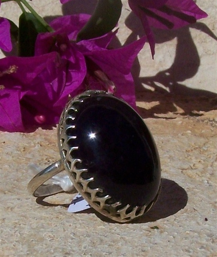 Amethyst ring.  Ma Nouvelle Vie