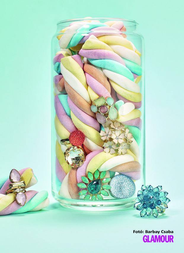 Pasztel gyűrűk - akarjuk, akarjuk!Sweet little nothings make life beautiful. Like pastel rings. They'll surely match your summer outfit.