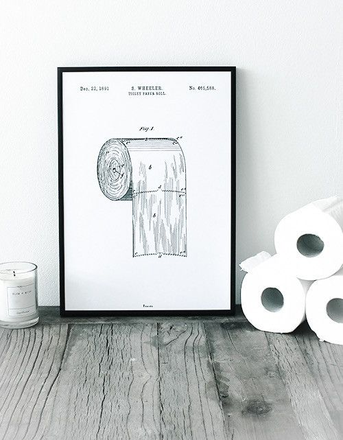 Toilet paper roll - Available at  www.bomedo.com