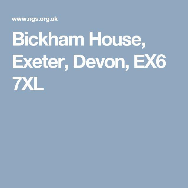 Bickham House, Exeter, Devon, EX6 7XL