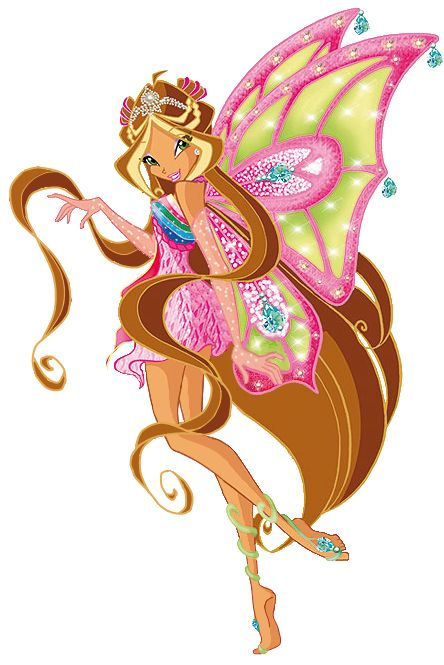 Floora Enchantix! Second Fairy Form!