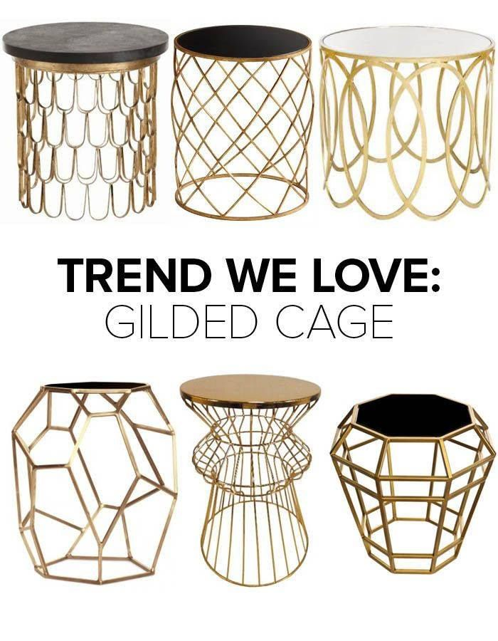 #HomeTrends2015  It's all about the metal cobweb cage this year!