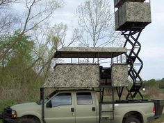 This is my car when I'm older its a deer blind