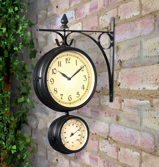 Reloj de tres caras