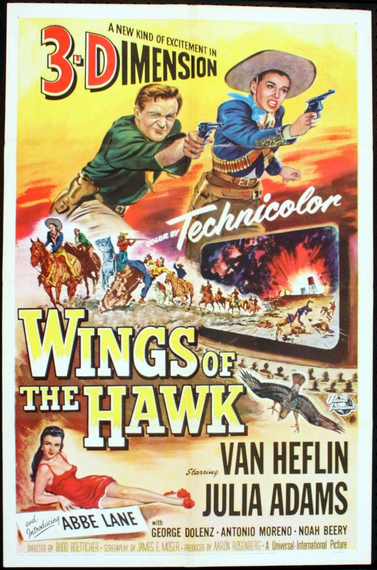 Universal-International western movies | WINGS OF THE HAWK -3D WESTERN
