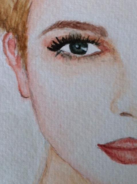 Duru / Watercolour painting detail