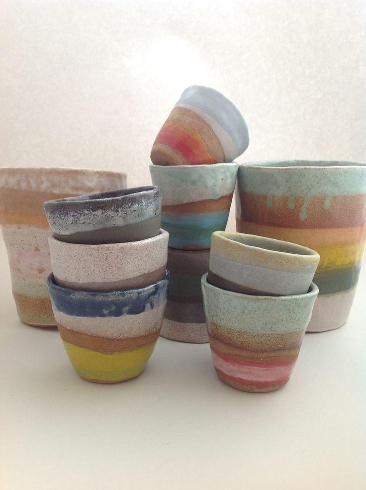 Shino Takeda   ceramic cups