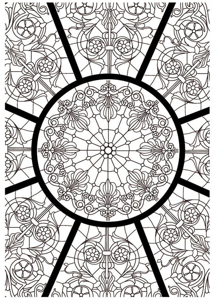 Amazon.fr - L'art du vitrail: Art-thérapie - Sophie Leblanc - Livres