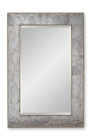 Mink Crackle Mosaic Rectangle Mirror from Next
