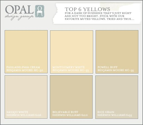 we like colors with a hint of a gray or brown tone to them this yellow paint