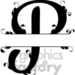 10 Best Split Letters Images On Pinterest Monogram