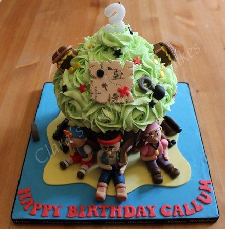 Jake and the Neverland pirate Giant Cupcake