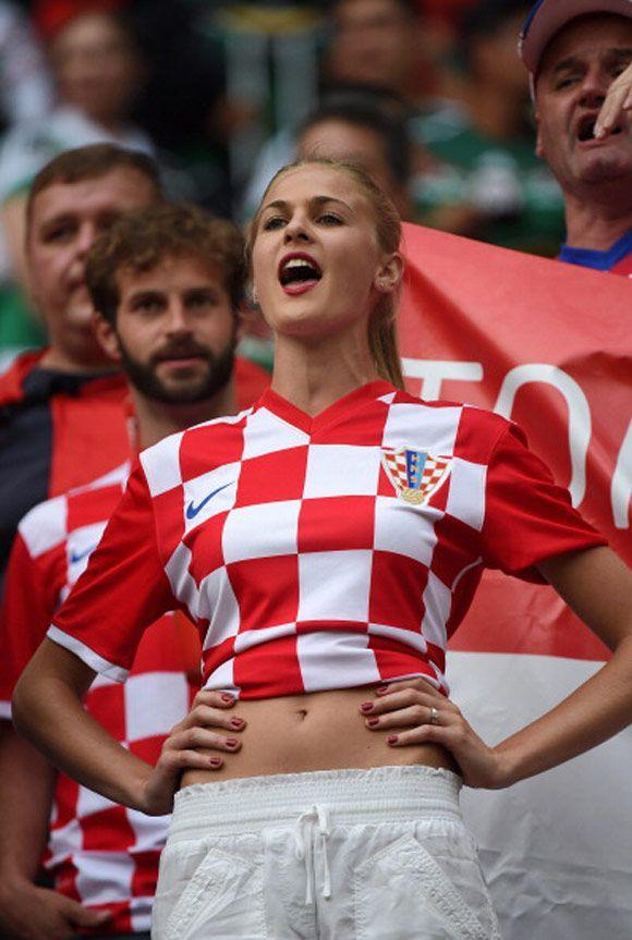 Bola.net: Suporter Elok Piala Dunia 2014: Kroasia
