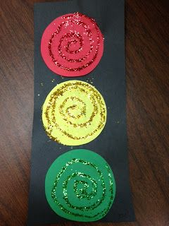 Traffic Light Craft & Song (from Preschool Ideas For 2 Year Olds)