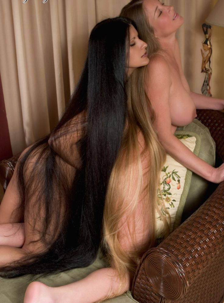 Long Hair Gay Porn Photo