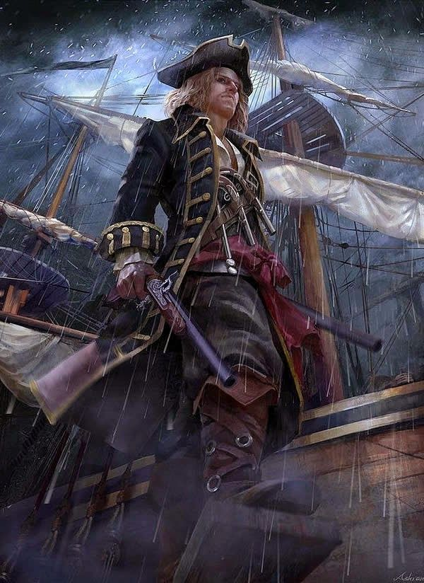 The Golden Age of Piracy #BlackSails #Pirate