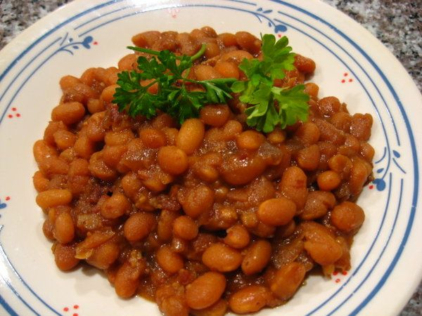 Baked Beans In The Crock Pot Recipe — Dishmaps