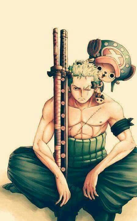 Roronoa Zoro, choper....one piece