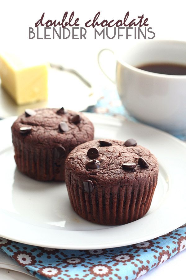 These are the best low carb chocolate muffins and are so easy to make. Just whip them up in your blender and pour into the muffin cups.