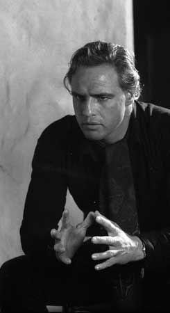 Marlon Brando | by Tazio Secchiaroli