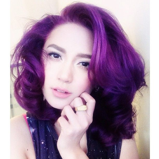 Manic Panic Purple Haze On Bleached Hair My Style Pinterest And Dyed