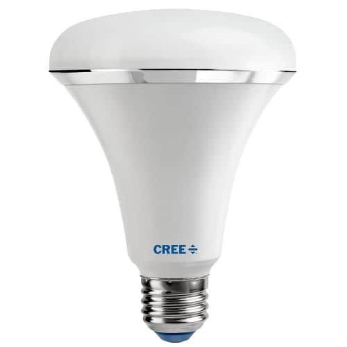 Cree LED Lighting SBR30-06550FLFD-12DE26-1-E1 Single Dimmable BR Series 7 Watt BR30 Daylight Energy Star LED Bulb - 85CRI -