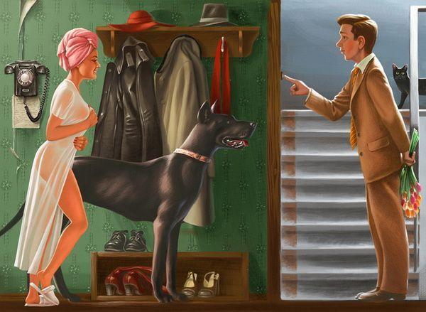Ilustraciones Cool por Valery Barykin 12