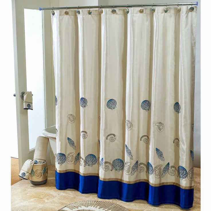 Curtain Ideas: Nautical Bathroom Window Curtain