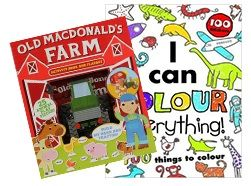 Deal of the Week - Play & Learn Boys This deal is so full of fun! With a MASSIVE colouring book that teaches you as you colour and and Old MacDonald playset which lets you build your very own farm! Get your Deal here: http://www.readerswarehouse.co.za/deal-of-the-week-play-learn-boys