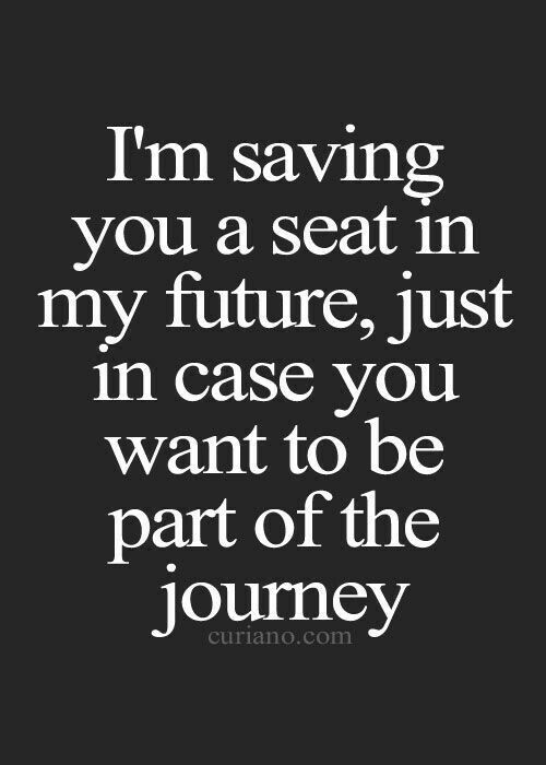 You last told me that you wanted us... so I am still building my future around you. If your heart has changed, please do me the courtesy of clearly letting me know. Otherwise, I will continue to wait for you.