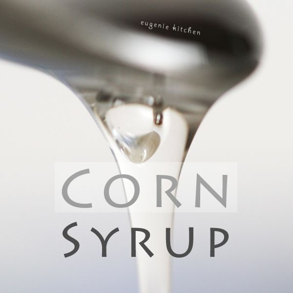 """Corn Free!!!----How to Make """"Corn"""" Syrup at Home - Homemade Substitute Recipe - Eugenie Kitchen"""