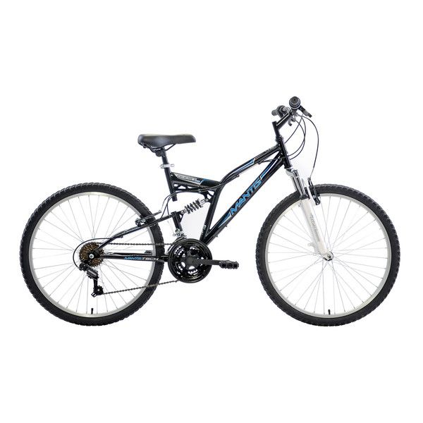 Mantis Ghost Full Suspension Mountain Bike, 26 inch Wheels, 18 inch Frame, Me...