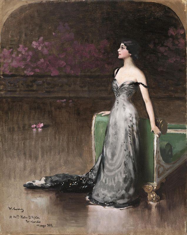 """Portrait of Lina Cavalieri"""