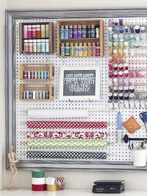 The craft room